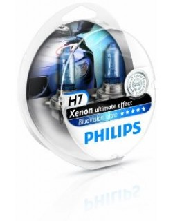 Автолампа Philips 12972BVUSM H7 BlueVision Ultra