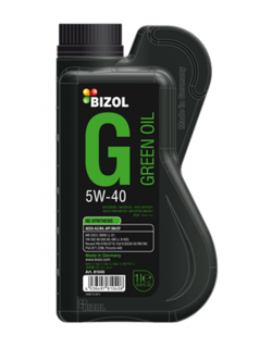 BIZOL Green Oil Synthesis SAE 5W-40 1литр