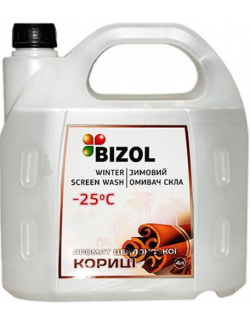 BIZOL WINTER SCREEN WASH -25C CEYLON CINNAMON 4литра