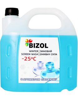 BIZOL WINTER SCREEN WASH -25C perfume 4литра