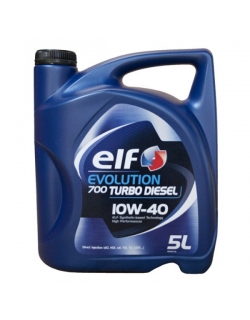 ELF EVOLUTION 700 TURBO DIESEL 10W40 5л